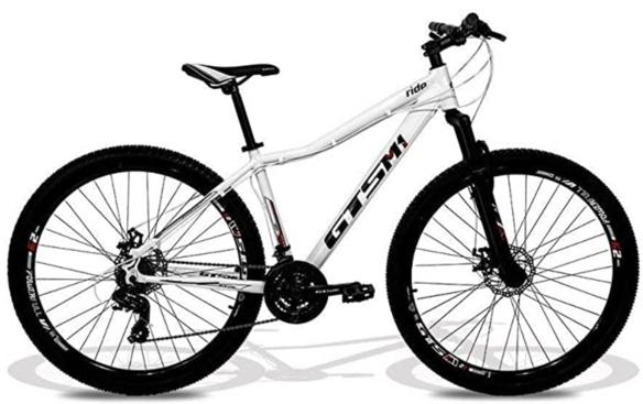 Bicicleta urbana feminina Shimano