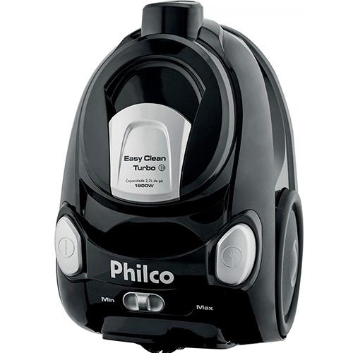 Aspirador de pó Philco Easy Clean Turbo pr 1800W é bom