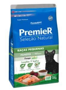Ração Premier Seleção Natural para Cães Filhotes Raças Pequenas