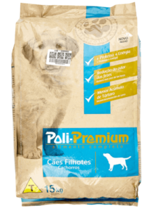 Ração Poli Premium para Cães Filhotes