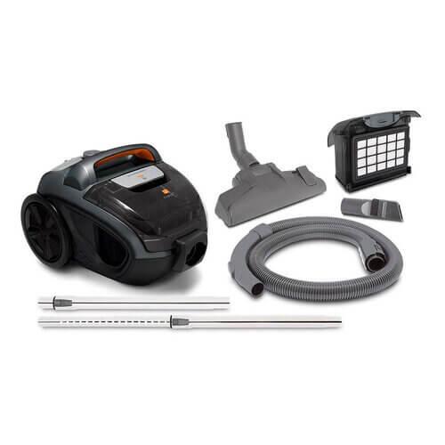 aspirador de pó Midea Ventus VCA36 1400W com filtro Hepa acessórios bocal