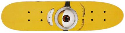 Skate Cruiser Minions One Eye Maple 24 ABEC 5
