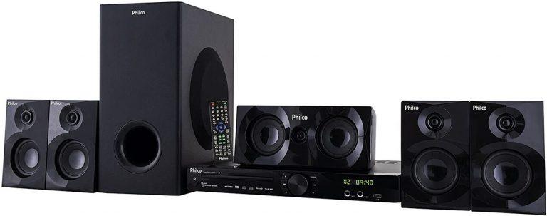 Home Theater Philco com USB e HDMI