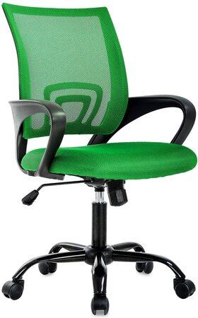 Cadeira de Mesa Ergonômica Moderna Verde BestOffice