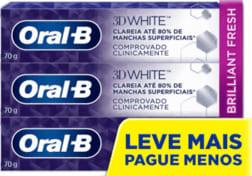Creme Dental Oral-B 3D White - 70G