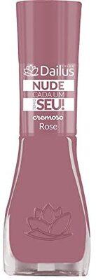 Esmalte Nude 04-Rose Dailus Rose