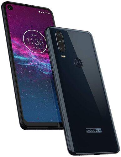 Motorola one action denim