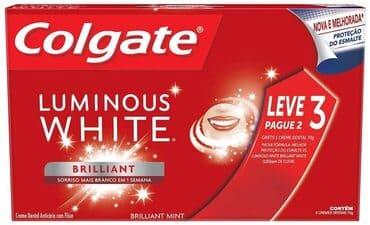 creme-dental-clareador-colgate-luminous-white