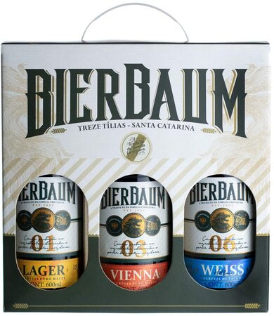Kit cervejas bierbaum