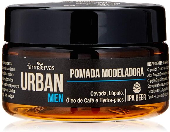 Pomada modeladora masculina Urban Men IPA