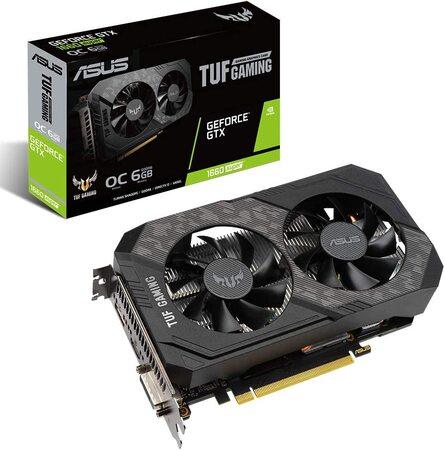 Placa de vídeo Asus Geforce GTX 1660