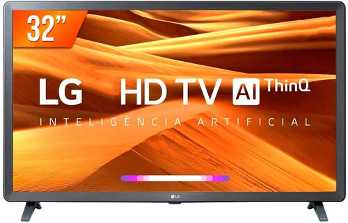 Smart TV LED 32 HD LG Active ThinQ Ai