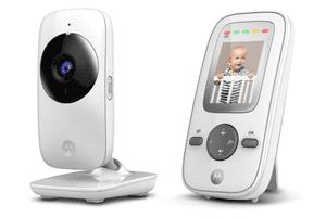 """Babá Eletrônica Motorola MBP481 - Tela de 2"""", Zoom Digital e Visão Noturna"""